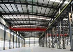 扬州钢结构雨棚各个组成部分是如何设计的?