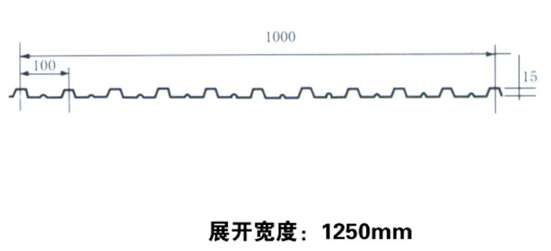 彩钢瓦1000厂家